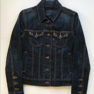 Levi's women's denim jeans jacket size XS/S